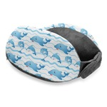 Dolphins Travel Neck Pillow