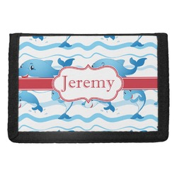 Dolphins Trifold Wallet (Personalized)