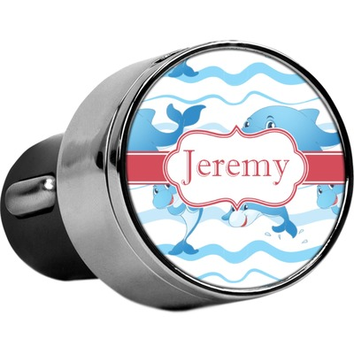 Dolphins USB Car Charger (Personalized)