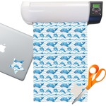 Dolphins Sticker Vinyl Sheet (Permanent)