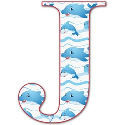 Dolphins Letter Decal - Custom Sized (Personalized)