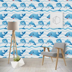 Dolphins Wallpaper & Surface Covering