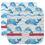 Dolphins Facecloth / Wash Cloth (Personalized)