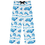 Dolphins Womens Pajama Pants (Personalized)