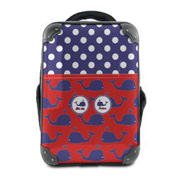 Whale Hard Shell Backpack (Personalized)