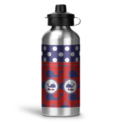 Whale Water Bottle - Aluminum - 20 oz (Personalized)