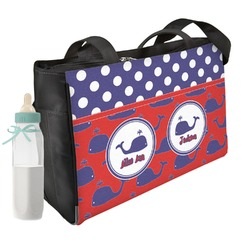 Whale Diaper Bag (Personalized)