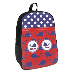 Whale Kids Backpack (Personalized)