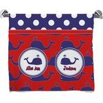 Whale Bath Towel (Personalized)