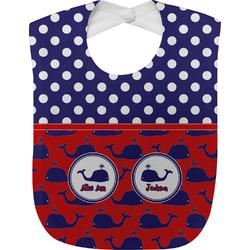 Whale Baby Bib (Personalized)