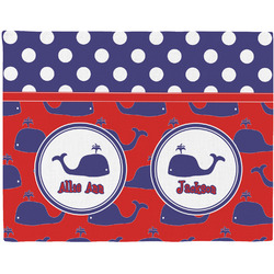 Whale Placemat (Fabric) (Personalized)