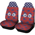 Whale Car Seat Covers (Set of Two) (Personalized)