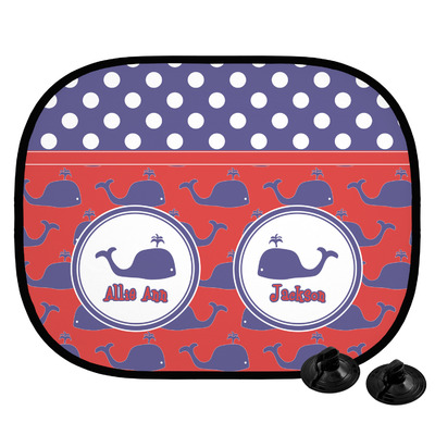 Whale Car Side Window Sun Shade (Personalized)