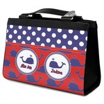 Whale Classic Tote Purse w/ Leather Trim (Personalized)