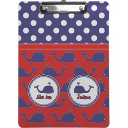 Whale Clipboard (Personalized)