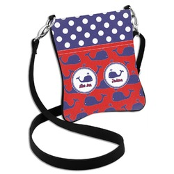 Whale Cross Body Bag - 2 Sizes (Personalized)