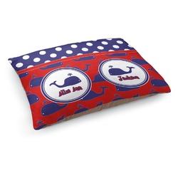Whale Dog Pillow Bed (Personalized)