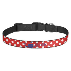 Whale Dog Collar (Personalized)