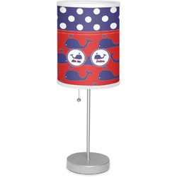 "Whale 7"" Drum Lamp with Shade (Personalized)"
