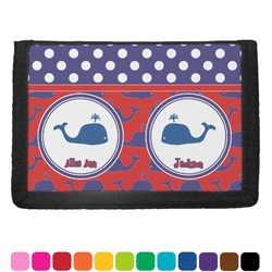 Whale Trifold Wallet (Personalized)