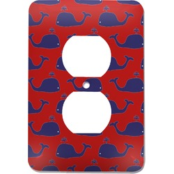 Whale Electric Outlet Plate (Personalized)
