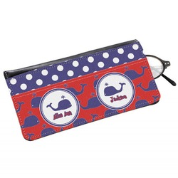 Whale Genuine Leather Eyeglass Case (Personalized)