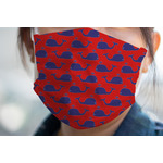 Whale Face Mask Cover (Personalized)