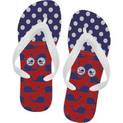 Whale Flip Flops (Personalized)