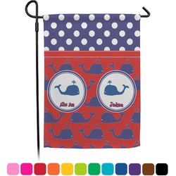 Whale Garden Flag (Personalized)