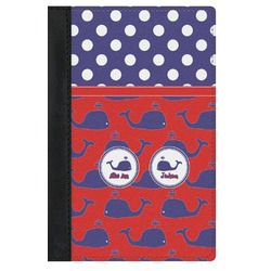 Whale Genuine Leather Passport Cover (Personalized)