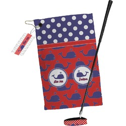 Whale Golf Towel Gift Set (Personalized)