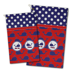 Whale Golf Towel - Full Print w/ Name or Text