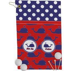 Whale Golf Towel - Full Print (Personalized)