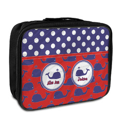 Whale Insulated Lunch Bag (Personalized)