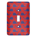 Whale Light Switch Covers (Personalized)