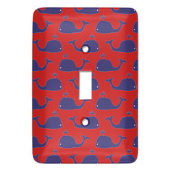 Whale Light Switch Covers - Multiple Toggle Options Available (Personalized)