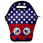 Whale Lunch Bag w/ Name or Text
