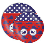 Whale Melamine Plate (Personalized)