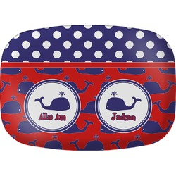 Whale Melamine Platter (Personalized)