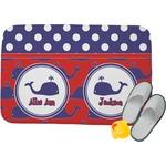 Whale Memory Foam Bath Mat (Personalized)