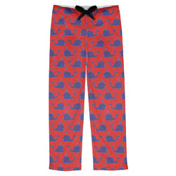 Whale Mens Pajama Pants (Personalized)