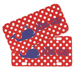 Whale Mini/Bicycle License Plates (Personalized)