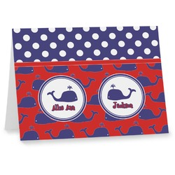 Whale Notecards (Personalized)