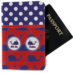 Whale Passport Holder - Fabric (Personalized)