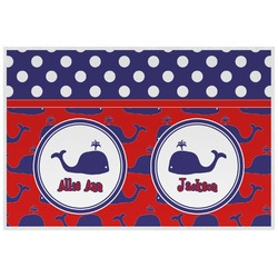 Whale Placemat (Laminated) (Personalized)