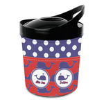 Whale Plastic Ice Bucket (Personalized)