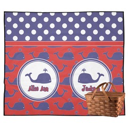 Whale Outdoor Picnic Blanket (Personalized)