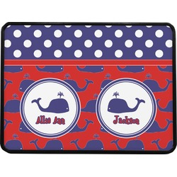 Whale Rectangular Trailer Hitch Cover (Personalized)