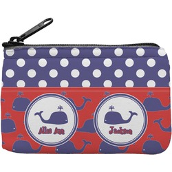 Whale Rectangular Coin Purse (Personalized)