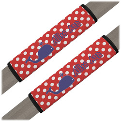 Whale Seat Belt Covers (Set of 2) (Personalized)
